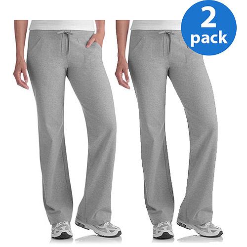 e63b7c35991fe Danskin Now Women's Plus-Size Dri-More Core Relaxed Fit Workout Pants  2-Pack Value Bundle - Walmart.com