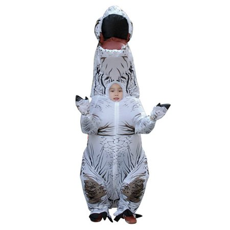 Cheap Cosplay For Sale (Adult Inflatable Costume Christmas Cosplay Dinosaur Animal Jumpsuit Halloween Costume for Adult)