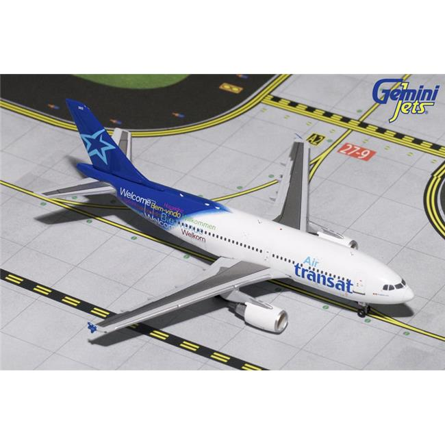 Gemini Jets 1-400 GJ1504 Air Transat Airbus A310-300 C-GLAT GJTSC1504 Scale 1-400 Model Airplane