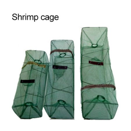 Fishing Net Foldable Crab Net Trap Cast Dip Cage Fishing Bait Fish Minnow Crawfish (Pillow Crawfish Traps For Sale In Louisiana)