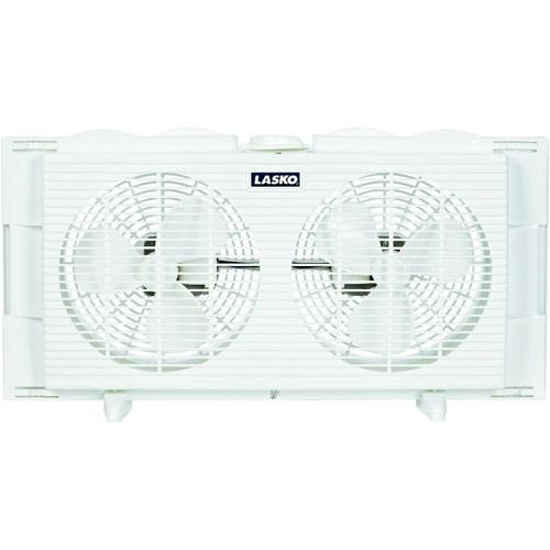 """Lasko Products 7"""" Twin Window Fan  2137"""