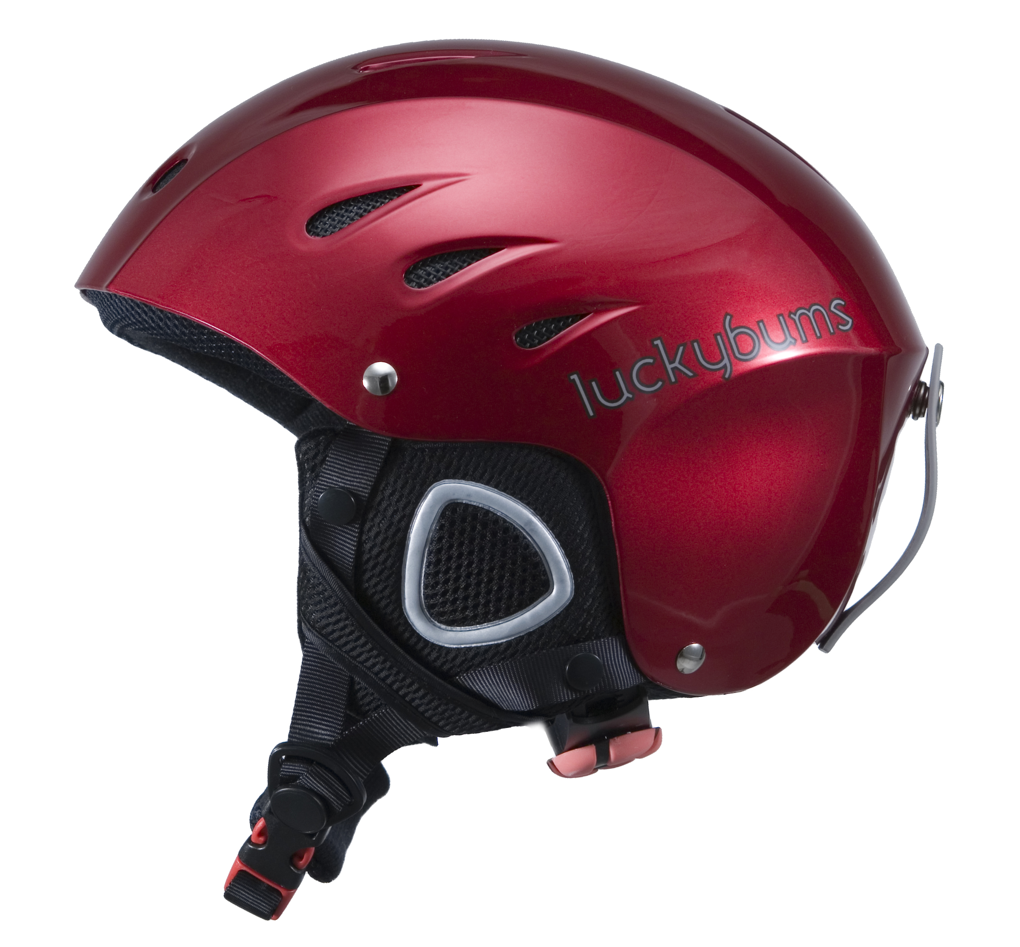 Lucky Bums Snow Sport Helmet, Red, Small by Lucky Bums