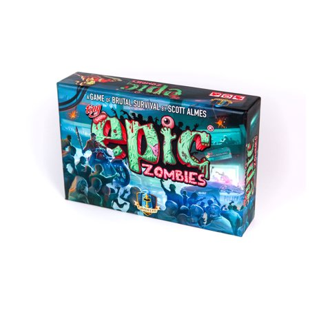 Tiny Epic Zombies Strategy Board Game: A Game of Brutal (Best Open World Zombie Survival Games)
