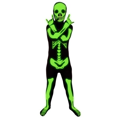 Morphsuits Kids Glow Skeleton - Cool Halloween Costumes With Morphsuits