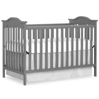 Dream On Me Bella Rose Classic Convertible Crib, Storm Grey