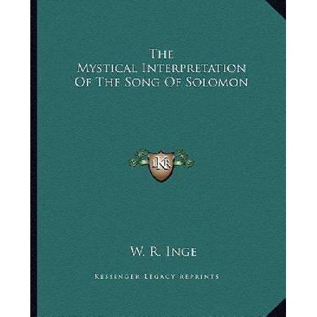 The Mystical Interpretation of the Song of Solomon - image 1 de 1