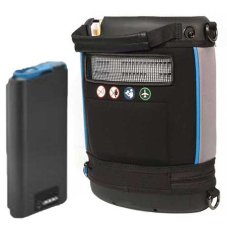 - Invacare Platinum Mobile POC (1-4 Pulse Flow Settings) with Single Battery