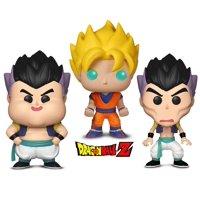 Warp Gadgets Bundle - Funko POP! Dragon Ball Z: Gotanks Failed Fusions 2 Pack and Super Saiyan Goku (2 Items)