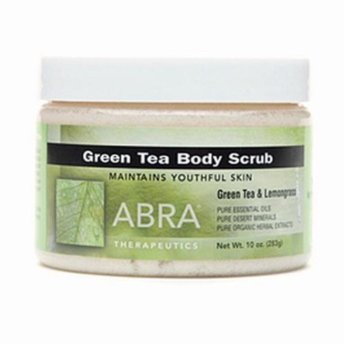 Abra Therapeutics Body Scrub With Green Tea And Lemongrass - 10 Oz