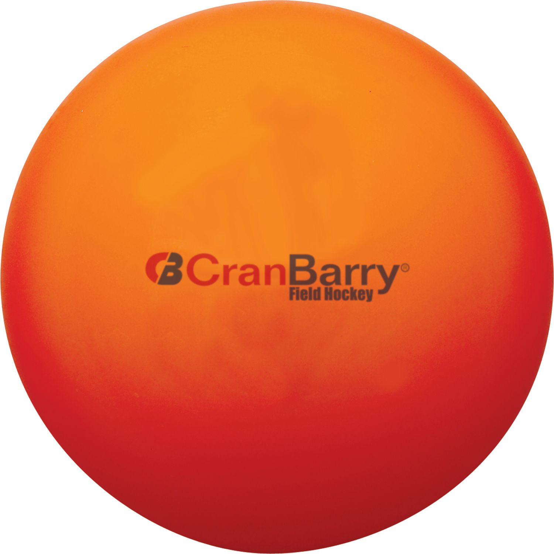 CranBarry Hollow Practice Field Hockey Ball Orange