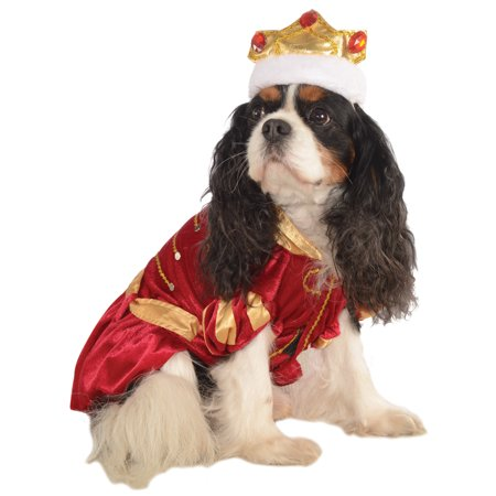 Kanine King Royal Prince Pet Dog Puppy Red Halloween - Holloween Dog Costumes