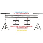 CedarsLink 15FT Portable DJ Lighting Truss/Stand w T-Bar Trussing Stage System