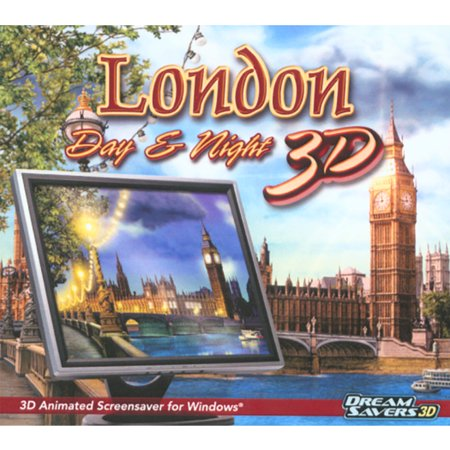 London Day and Night 3D Animated Screensaver for Windows (Halloween 3d Screensavers)