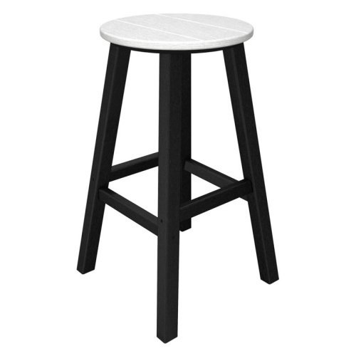 POLYWOOD® Contempo 30 in. Round Bar Stool