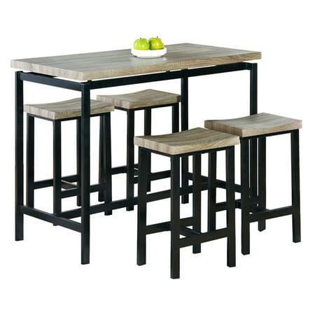 Milton Greens Stars Emily 5 Piece Dining Table Set