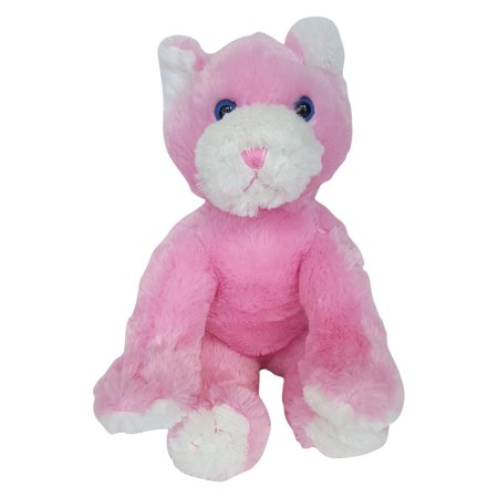 Record Your Own Plush 16 inch Pinkie Cat - Ready To Love in a Few Easy Steps