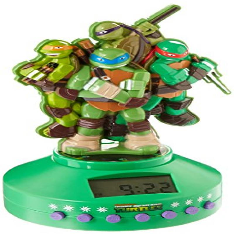 Teenage Mutant Ninja Turtles Molded Bluetooth Clock Radio
