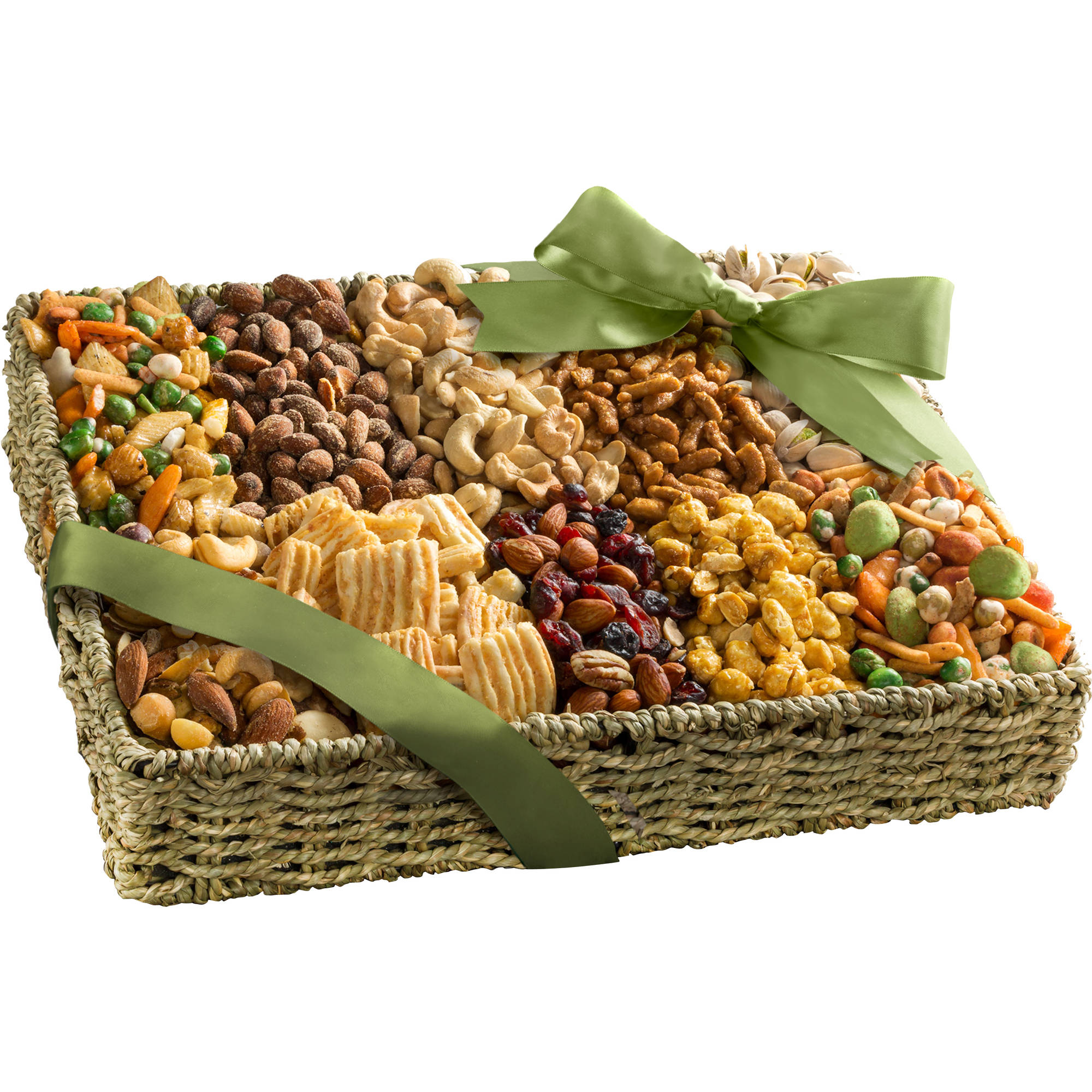 Golden State Fruit Best Savory Snacks Gift Basket