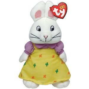 Ty Beanie Babies Max and Ruby - Ruby Plush Easter Bunny Rabbit (Max And Ruby Toys)