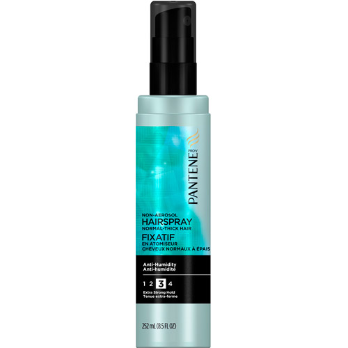 Pro-V Medium-Thick Hair Style Anti-Humidity Extra Strong Hold Hair Spray by Pantene for Unisex - 8.5 oz Hair Spray