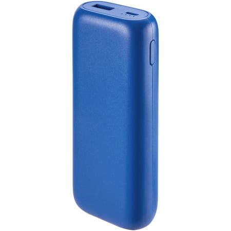 Onn Portable Battery Power Bank, 6700 Mah, Blue