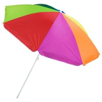 Brybelly Rainbow Beach Umbrella, 6-foot
