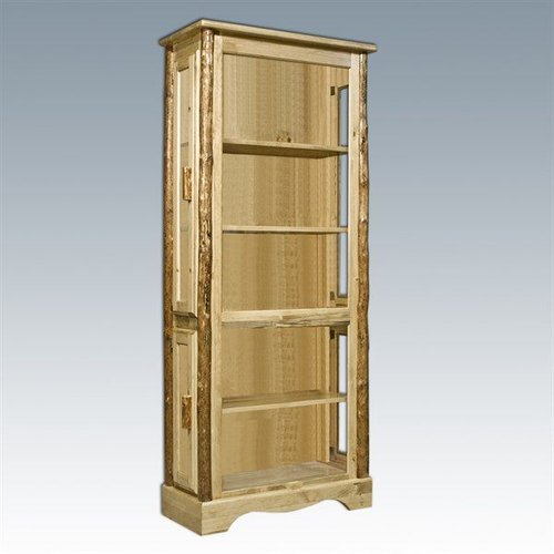 Montana Woodworks MWGCCC Glacier Country Curio Cabinet