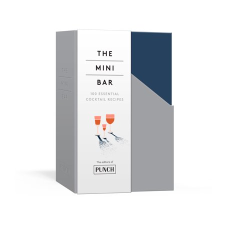 The Mini Bar : 100 Essential Cocktail Recipes; 8 Notebook Set