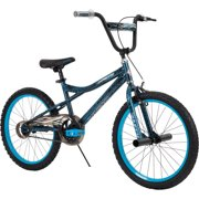 "Huffy Kyro 20"" BMX-Style Boys' Bike for Kids, Blue / Black Crackle"