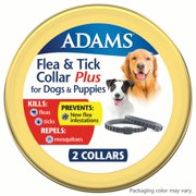 Best Flea Collars For Dogs - Adams Flea & Tick 2PK Collar for Large Review