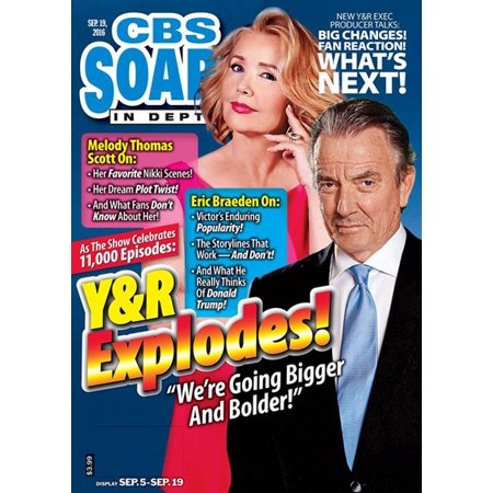 Cbs Soaps In Depth   Magazine Subscription  Save 52