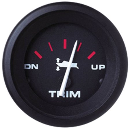 SeaStar Solutions Amega Trim Gauge for Mariner/Merc/Cobra/Volvo & Yamaha 2001+