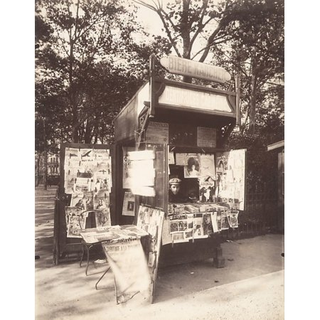 boutique journaux rue de s vres paris poster print by eug ne atget french libourne 1857 1927. Black Bedroom Furniture Sets. Home Design Ideas