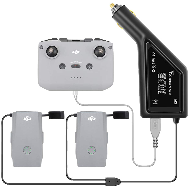 Multi Display Charger Converter Battery Charging Hub For DJI Mavic Air2 RC Drone