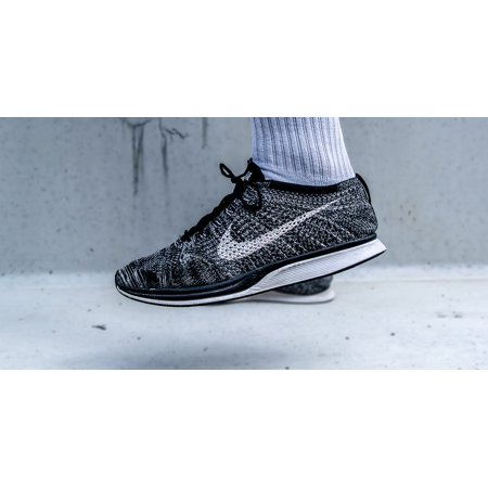 Canvas Print Footwear Foot Fashion Shoe Nike Flyknit Racer Stretched Canvas 10 x