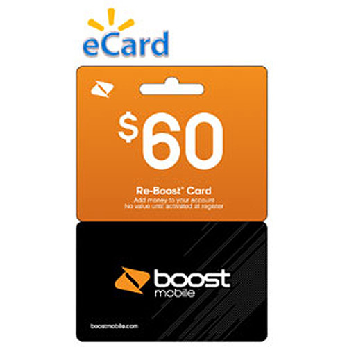 (Email Delivery) Boost Mobile $60