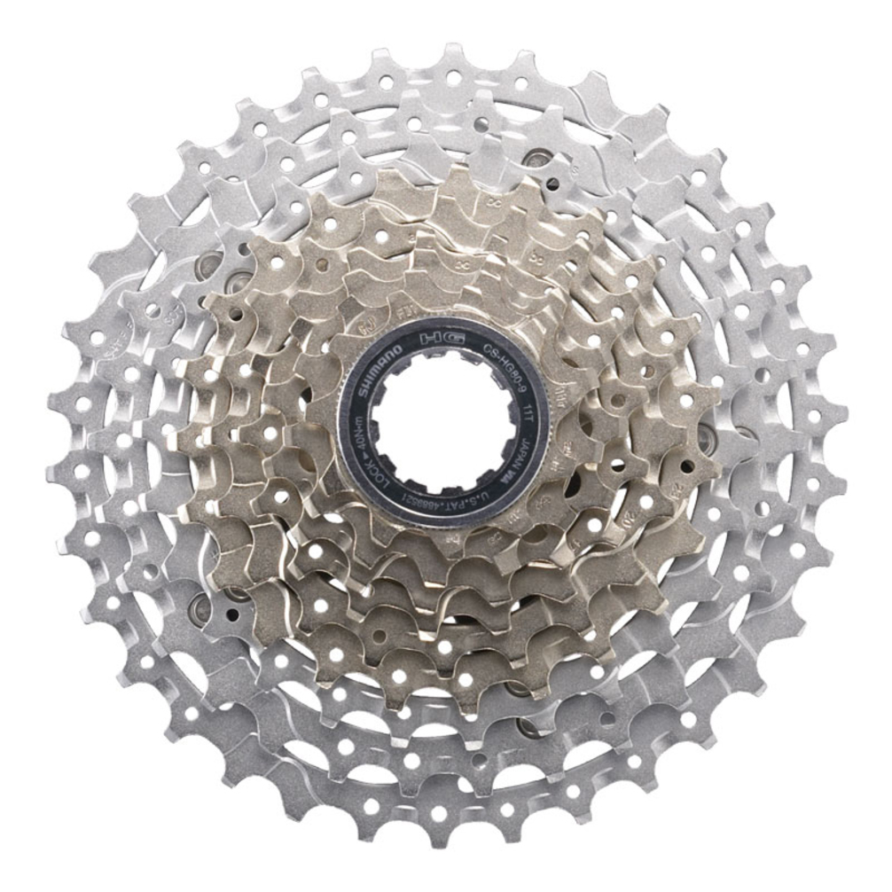 Shimano HG-80 11-34T Mountain Bike 9-Speed Cassette