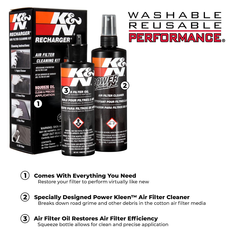 K/&N 99-0606 Air Filter Cleaner Pump Spray 12 oz
