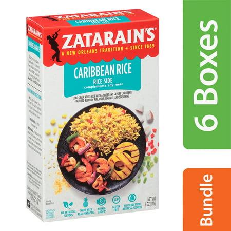 (6 Pack) Zatarain's Caribbean Rice Mix, 6 oz Dirty Rice Mix