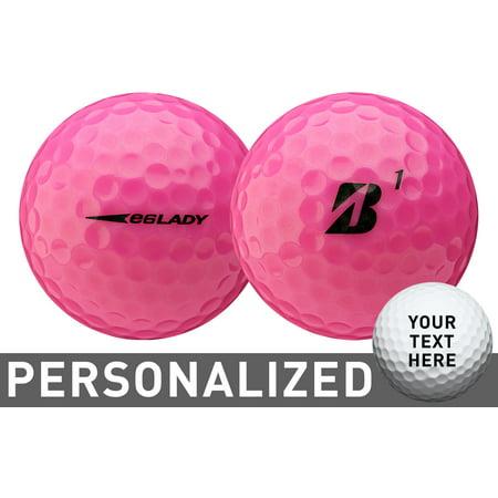 Bridgestone Women's 2019 e6 LADY Optic Pink Personalized Golf
