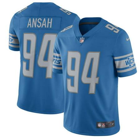 Men's Detroit Lions Ezekiel Ansah Nike Blue 2017 Vapor Untouchable Limited Player Jersey
