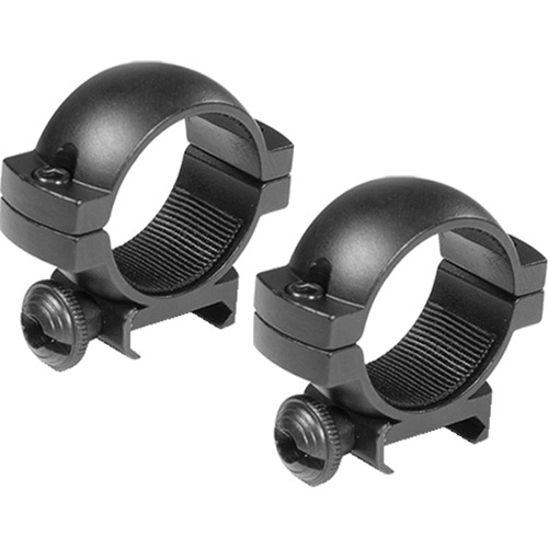 "Barska 1"" Low Weaver-Style Scope Rings"