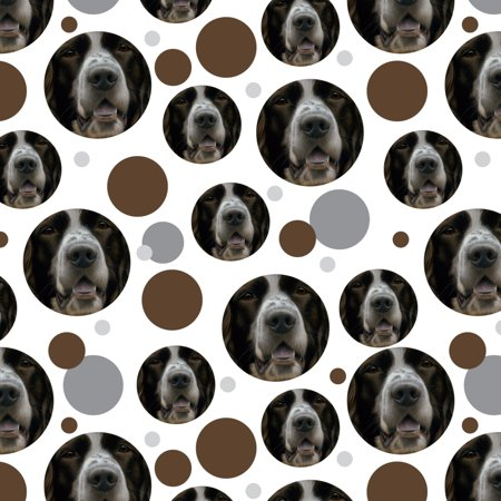English Springer Spaniel Dog Face Closeup Premium Gift Wrap Wrapping Paper