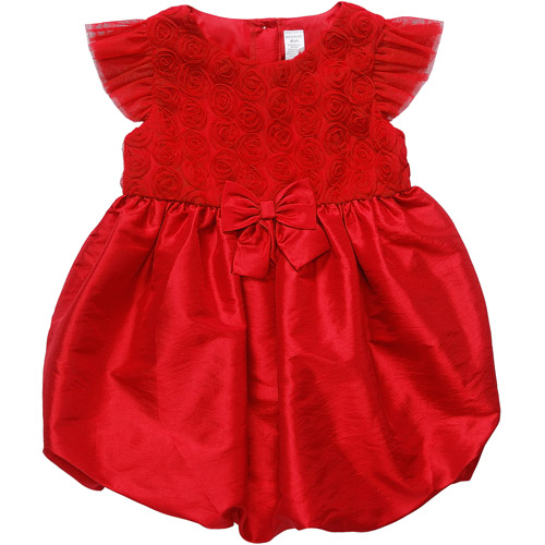 George Baby Girls' Red Dress with Bow