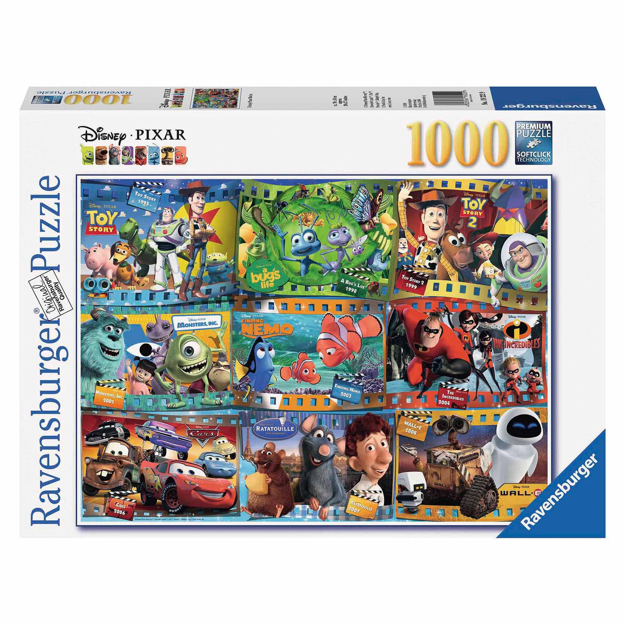 Disney-Pixar Movies Puzzle, 1,000 Pieces