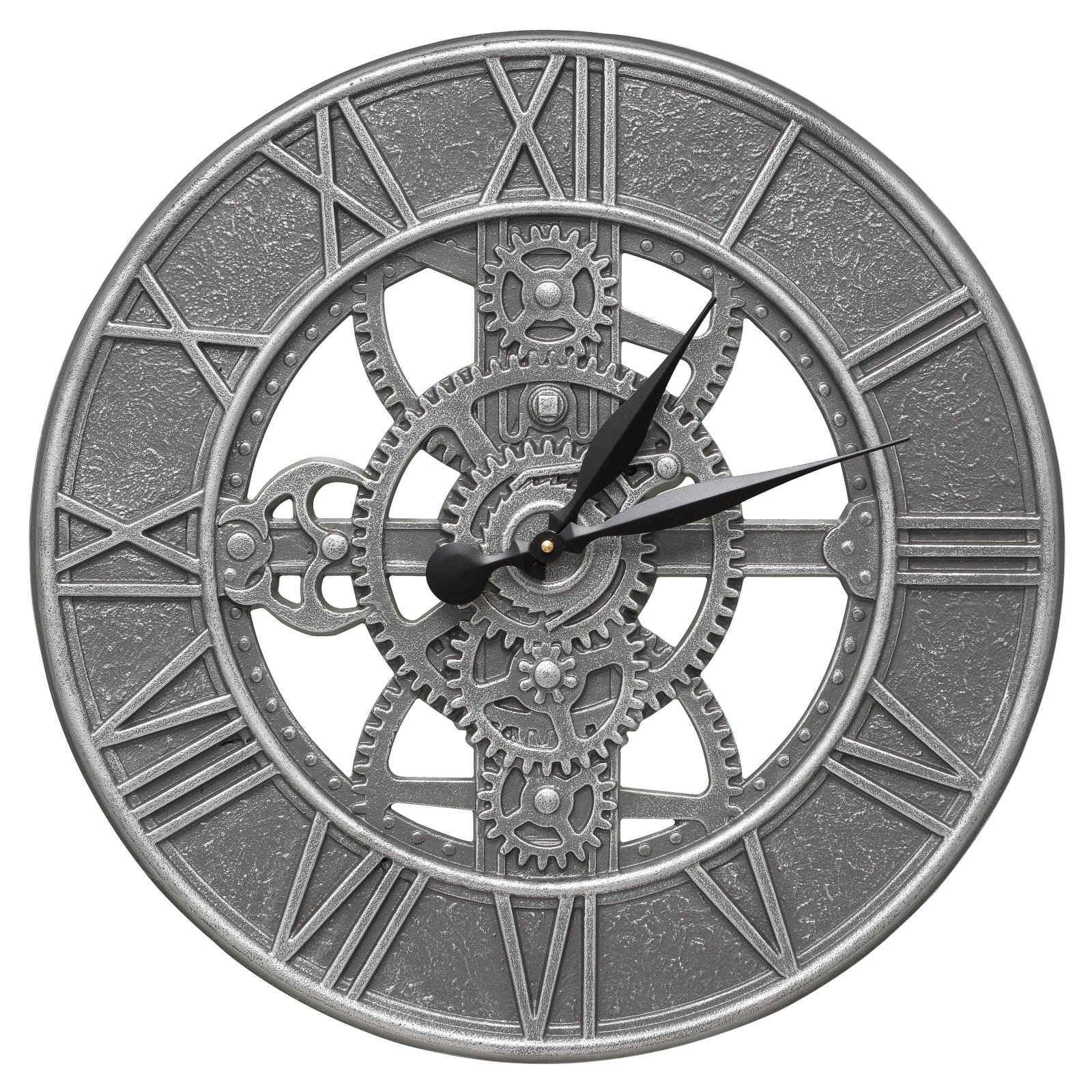 Whitehall Products Gear 21-in. Indoor/Outdoor Wall Clock