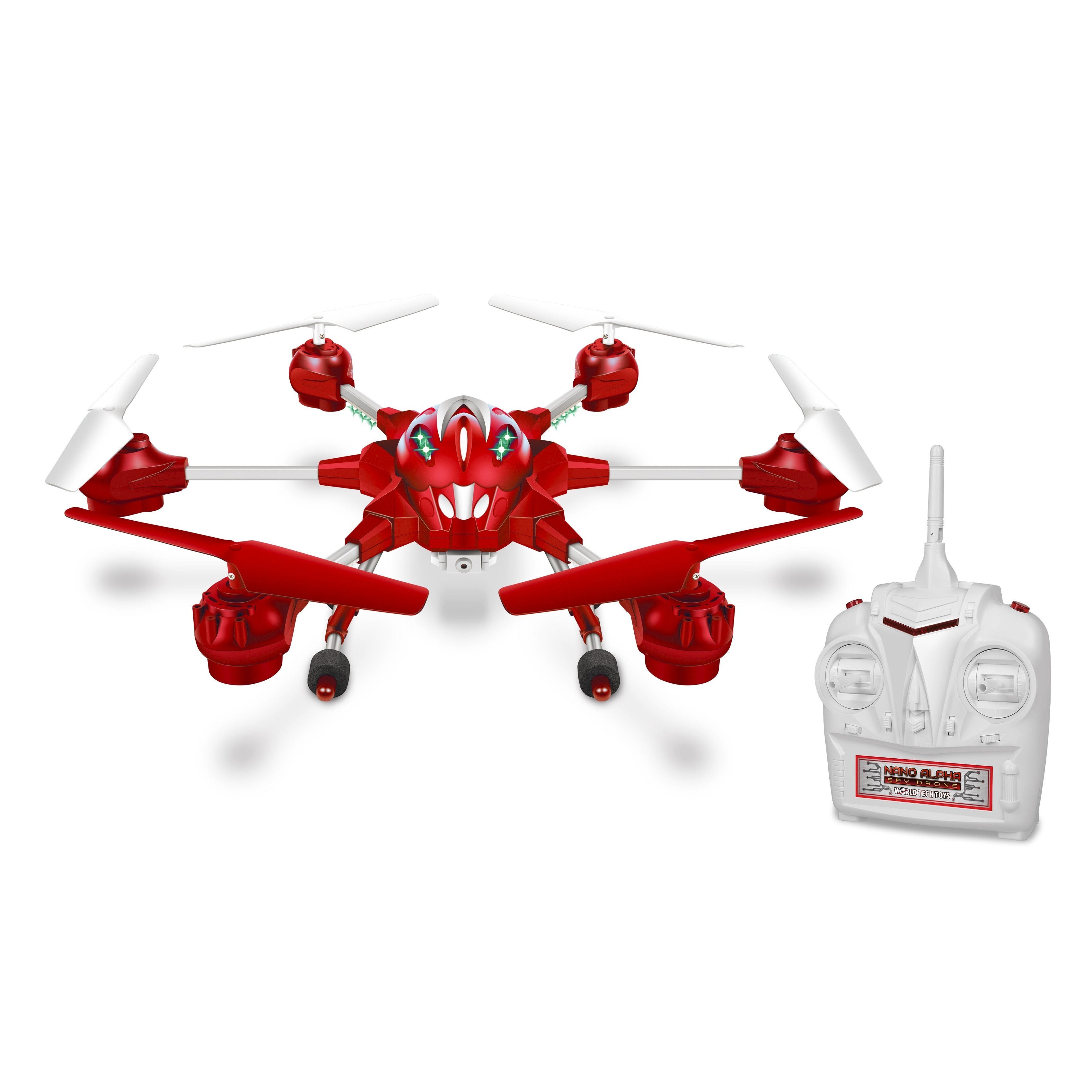 World Tech Toys Nano Alpha 2.4 Ghz 4.5-channel Picture and Video Remote Control Quadcopter Spy Drone by World Tech Toys