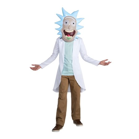 Rick and Morty Rick Teen Costume - Size 12-14 - image 1 de 1