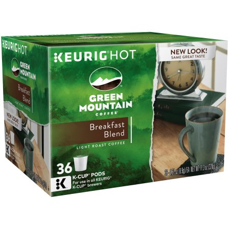 Green Mountain Coffee� Breakfast Blend Coffee K-Cup� Packs 12 ct Box