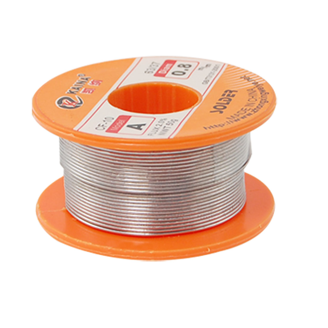 Unique Bargains 0.8mm 63/37 Tin Lead Roll Rosin Core Solder 2% Flux Soldering Wire Spool